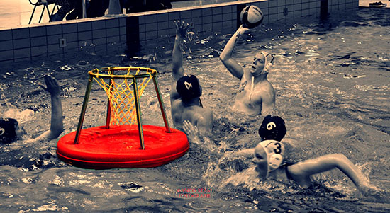 waterbasketbal 550